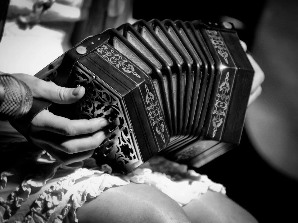 Playing The Concertina
